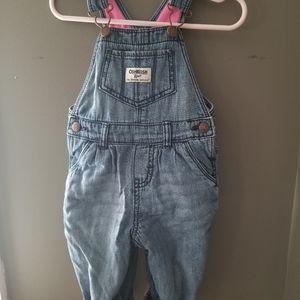 OshKosh fleece lined overalls